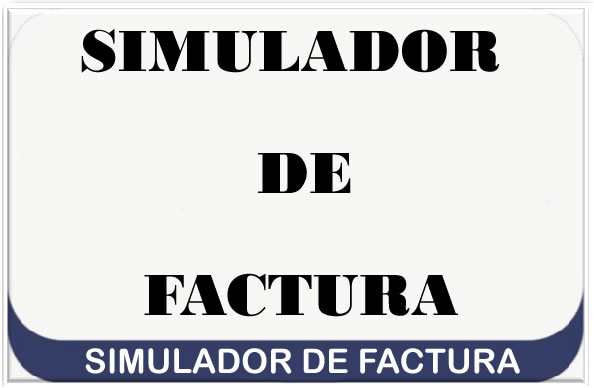 Simulador de Factura